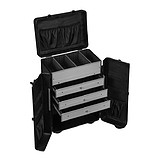 ANNDORA Cosmetics Trolley Black
