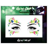 PaintGlow Glow In The Dark Face Jewel Style 2