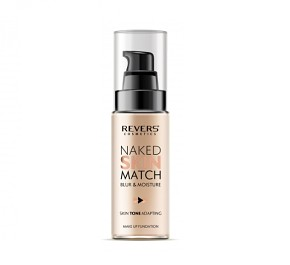 REVERS Naked Skin Match Foundation - MATTÍTÓ ALAPOZÓ