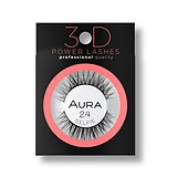 AURA Power Lashes 3D 24 Selfie - SOROS MŰSZEMPILLA 100% NATURAL