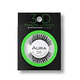 AURA Power Lashes 3D 26 Boomerang - SOROS MŰSZEMPILLA 100% NATURAL