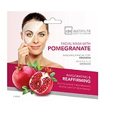 IDC COLOR Facial Mask With Pomegranate - GRÁNÁTALMA KIVONATOS FÁTYOLMASZK