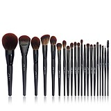 JESSUP 21 pcs Makeup Lover Collection T271 Brush Set - KOMPLETT MATT BLACK SMINKECSET KÉSZLET